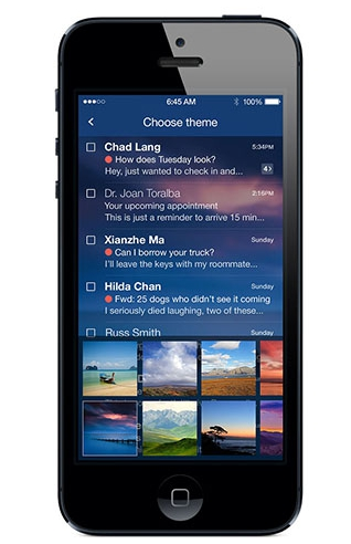 Yahoo Mail on Mobile phones