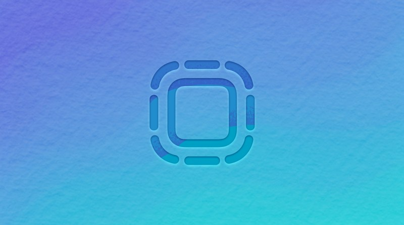 App Clips icon on blue background