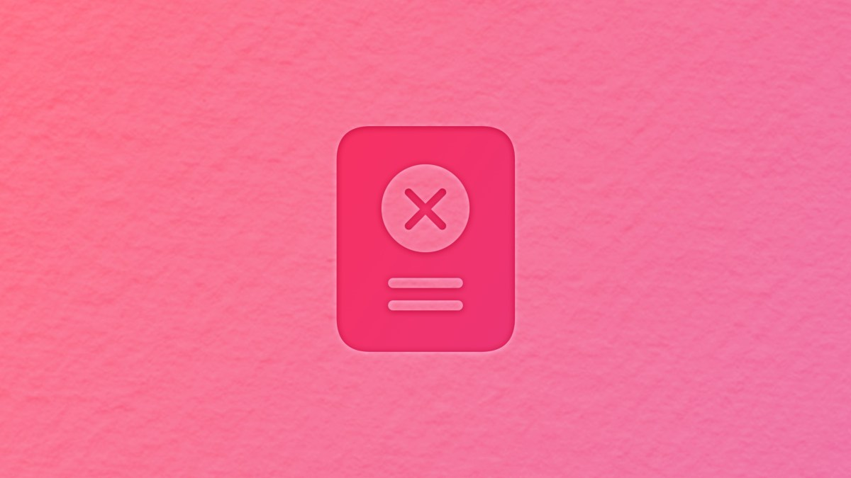 Achievement symbol with an achievement icon that looks like a x-mark in a circle.