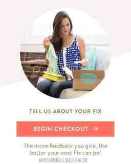 Stitch Fix Checkout