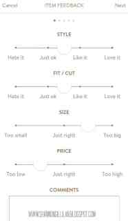 Stitch Fix Feedback