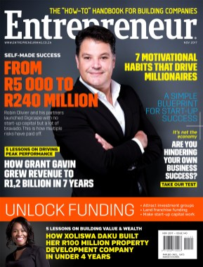 Entrepreneur November 2017-Cover