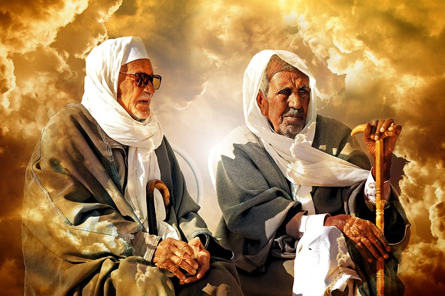bedoeïen mannen