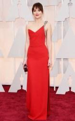 Dakota Johnson at the 87th annual Academy Awards