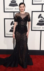 Jessie J at the 57th Annual Grammy Awards