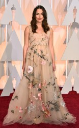 Keira Knightley at the 87th annual Academy Awards