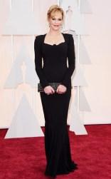 Melanie Griffith at the 87th annual Academy awards