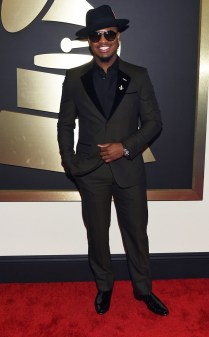 Neyo at the 57th annual Grammy Awards