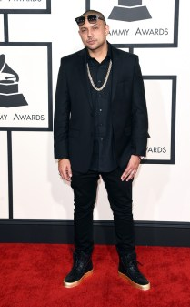 Sean Paul at the 57th annual Grammy Awards