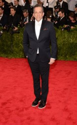Kenneth Cole at the 2015 Met Gala on May 4, 2015 at the Costume Institute Benefit Gala at the Metropolitan Museum of Art in New York.