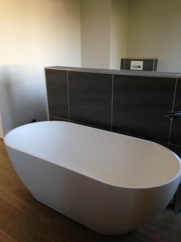 baignoire en pose libre bilbao blanche 170 x 80 cm