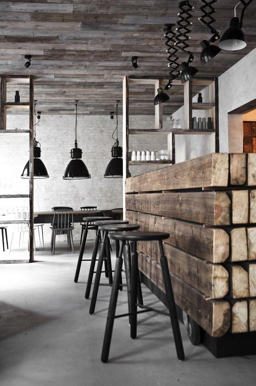 White wood counter chairs. cuisine originale 10 exemples en images ...