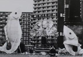 Big fish, Glasgow Lantern Palace, Welfare State International, 1990