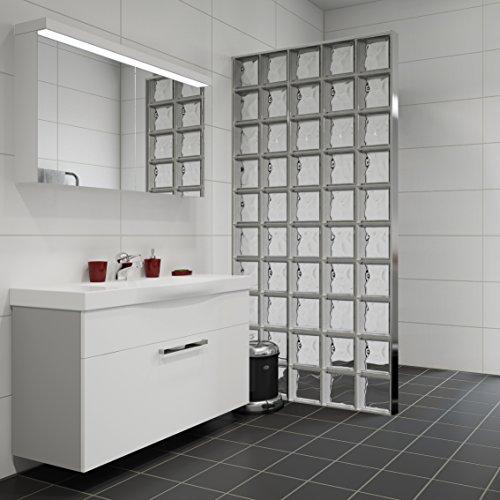 briques de verre prix d un mur au m2