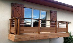 Balcon En Bois Quel Type De Bois Choisir Et Quel Budget Prevoir