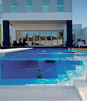 piscine transparente prix moyen d une