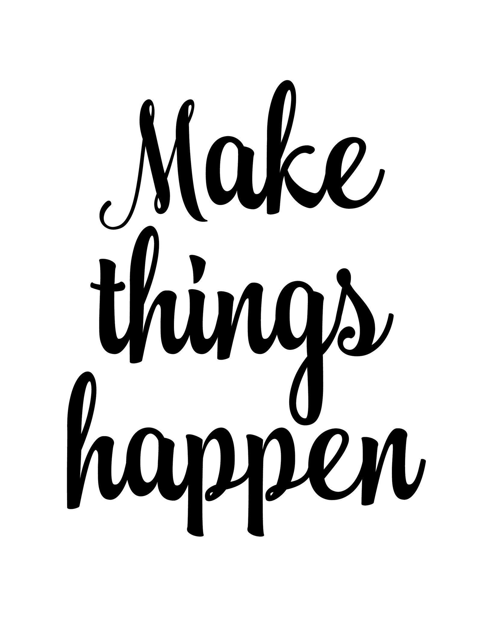 Start Now Act And Make Things Happen Devi Venkatesan