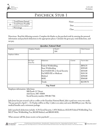 Complete Your Check Stub Template Printables Pdf Forms