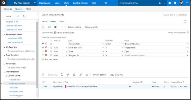How to Track Impediments in VSTS | Dev Man Walking - by