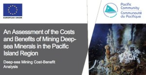 Title of the study for impact analysis of deep-sea mining in Papua