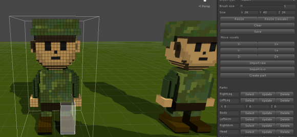 Voxel editor