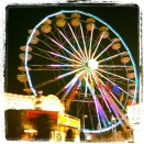 County Fair in the night