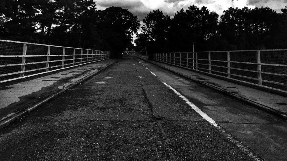 The disused bridge in Exeter