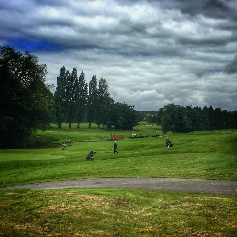 A view of golf in exeter