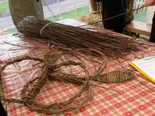 Weaving workshop at Killerton.