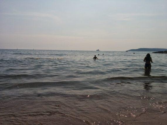 Bovisand Beach near Plymouth in Devon