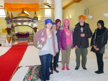 Visiting a beautiful Gudwara temple