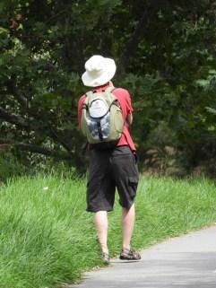 Tim continues his walk