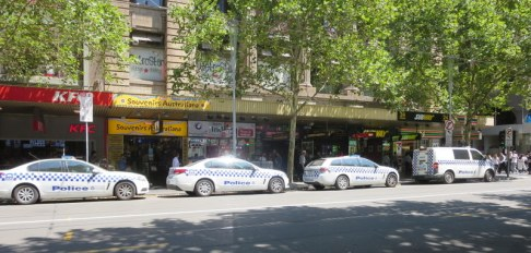 Melbourne feels like a safe city!