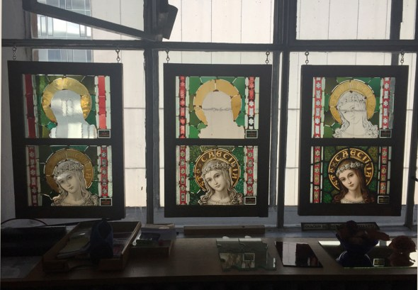 Stained glass process