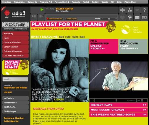 David Suzuki Foundation Playlist for the Planet