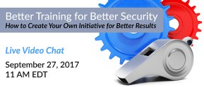 Better Training for Better Security