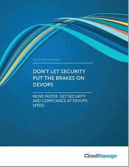Don't Let Security Put the Brakes on DevOps