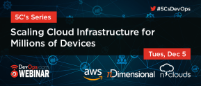 Scaling Cloud Infrastructure for Millions of Devices