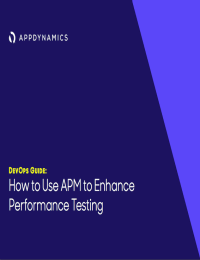 DevOps Guide: How to Use APM to Enhance Performance Testing