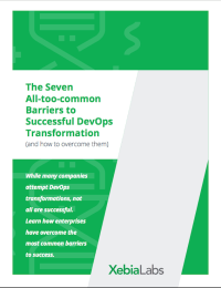 The Seven All-too-common Barriers to Successful DevOps Transformation