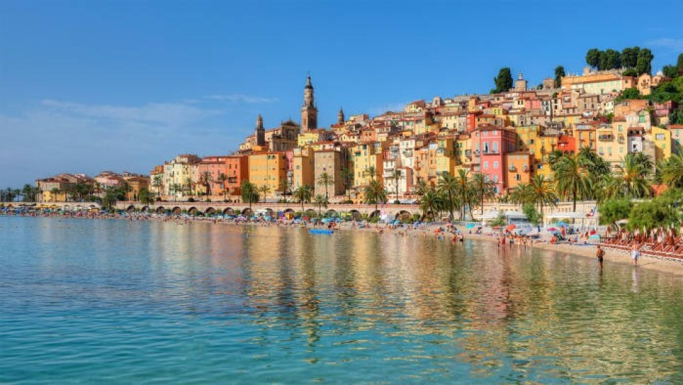 Enjoy the beaches of the French Riviera