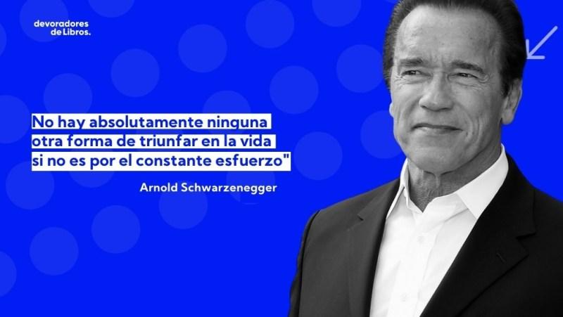 Frase de equipo de Arnold Schwarzenegger