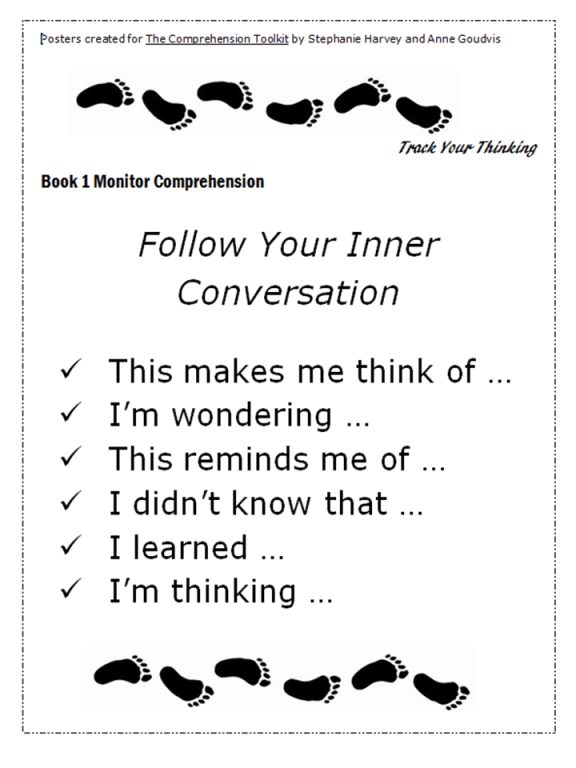 Comprehension Toolkit Book 1