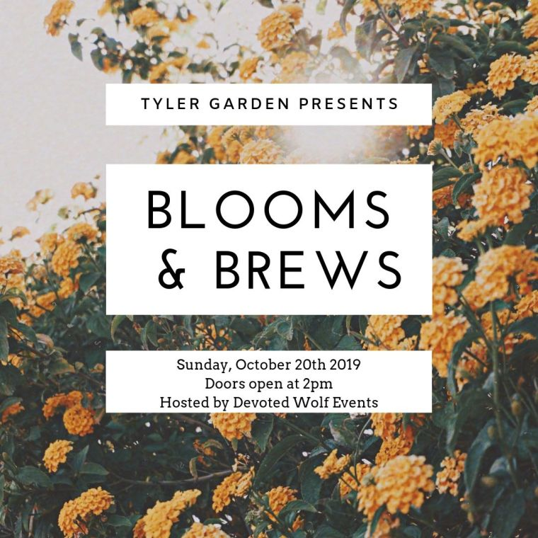 Blooms + Brews Fall 2019