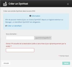 DynHost Ovh
