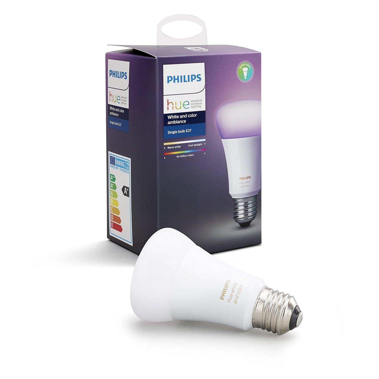 Philips Hue ampoule connectée White and Color E27 3ème génération