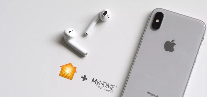 Piloter la domotique MyHOME de Legrand avec iOS et HomeKit