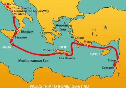 pauls-journey-to-rome