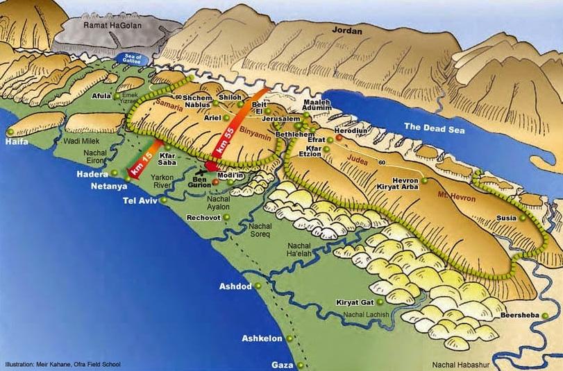 3d-map-israel