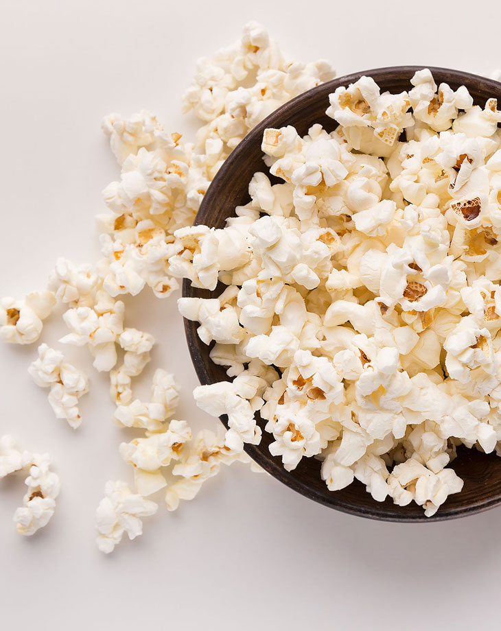 cook regular popcorn in the microwave